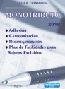 Monotributo 2018: Adhesion, categorizacion, recategorizacion
