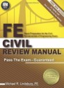 FE Civil Review Manual [Paperback]