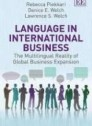 "Language in International Business ""The Multilingual Reality of Global Business Expansion"""