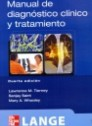 Manual de diagn�stico cl�nico y tratamiento